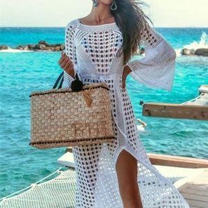 Luxury High Quality Crochet Knitted Beach Dress👗